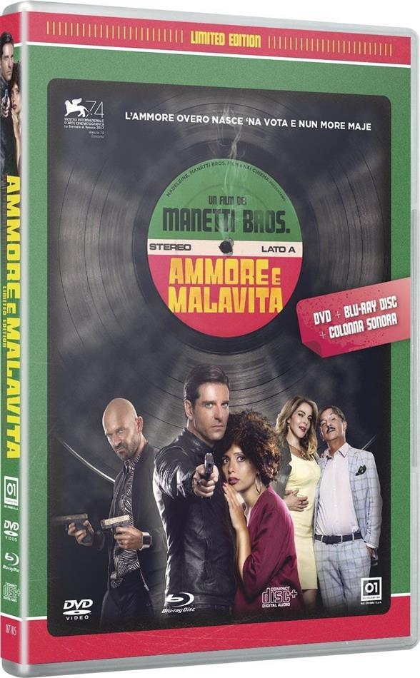 Ammore e malavita (2017) (Limited Edition, Blu-ray + DVD + CD)