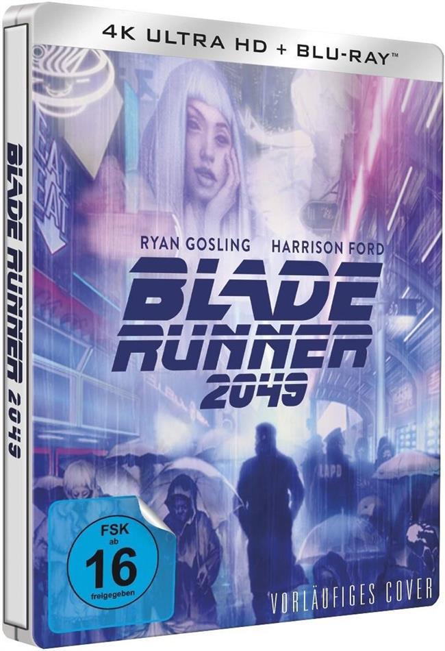 Blade Runner 2049 (2017) (Limited Edition, Steelbook, 4K Ultra HD + Blu-ray)