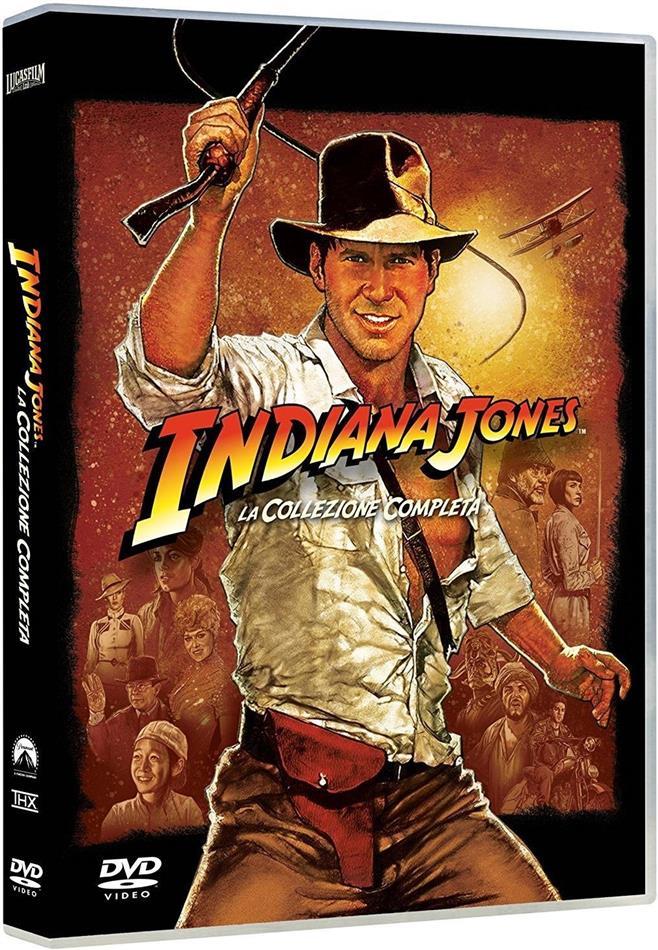 Indiana Jones - La Collezione Completa (4 DVD)