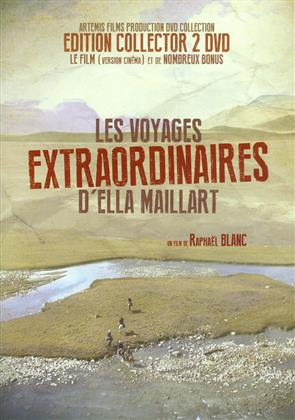 Les voyages extraordinaires d'Ella Maillart (2017) (Collector's Edition, 2 DVD)