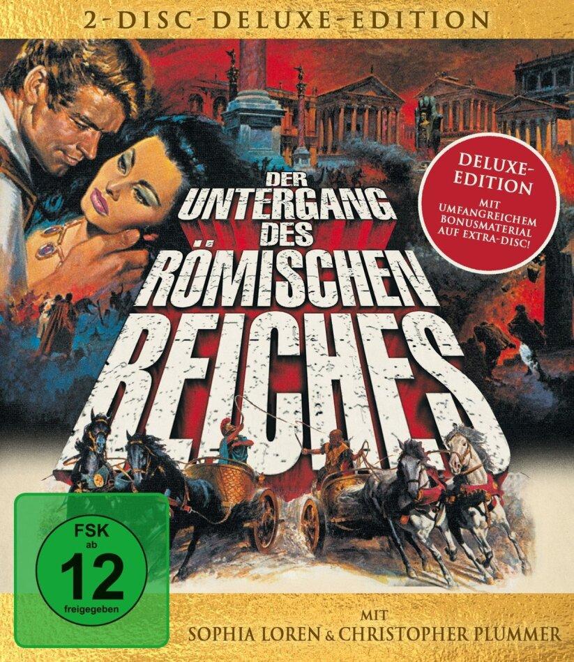 Der Untergang des Römischen Reiches (1964) (Deluxe Edition, Blu-ray + DVD)