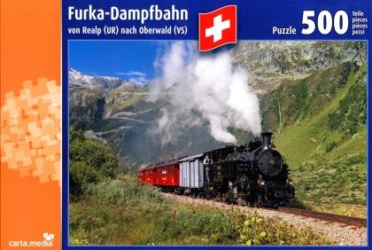 Dampfbahn Furka - Puzzle