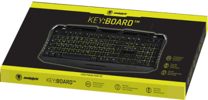 PC Keyboard Gaming Key:Board