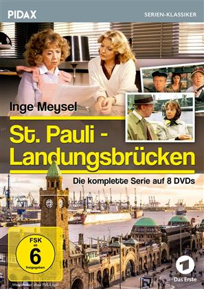 St. Pauli - Landungsbrücken - Die komplette Serie (Pidax Serien-Klassiker, 8 DVDs)
