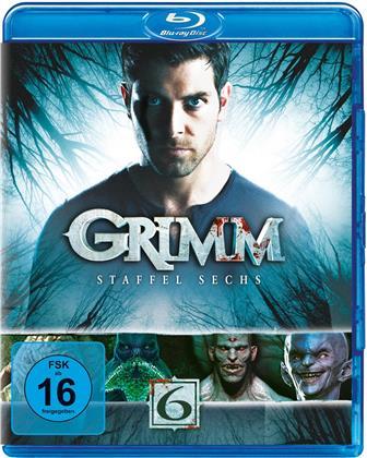 Grimm - Staffel 6 (3 Blu-rays)
