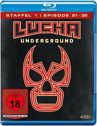 Lucha Underground - Staffel 1.2 - Episode 21-39 (4 Blu-rays)