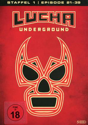 Lucha Underground - Staffel 1.2 - Episode 21-39 (5 DVDs)