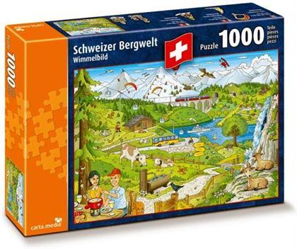 Schweizer Bergwelt - Puzzle