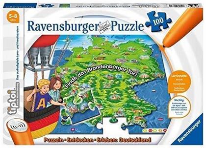 tiptoi Puzzle - Deutschland - 100 Teile