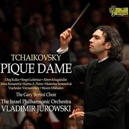 Peter Iljitsch Tschaikowsky (1840-1893), Vladimir Jurowski (1915-1972) & Israel Philharmonic Orchestra - Pique Dame (3 CDs)