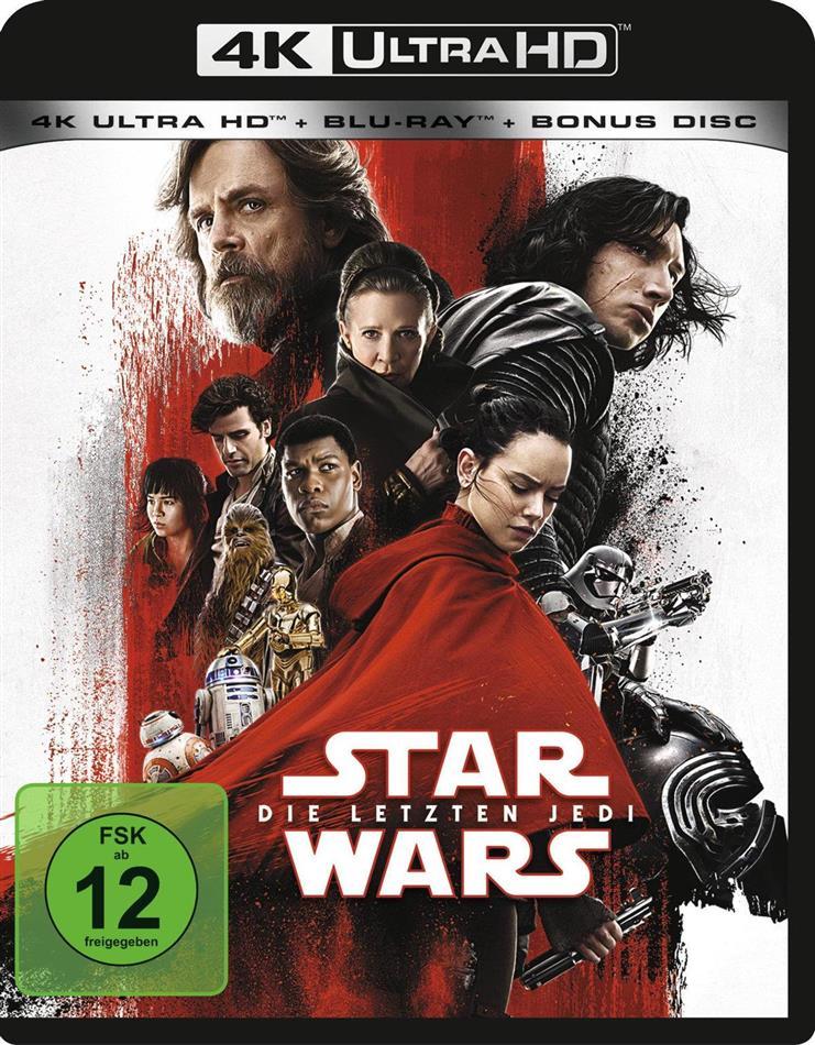 Star Wars - Episode 8 - Die letzten Jedi (2017) (4K Ultra HD + 2 Blu-ray)