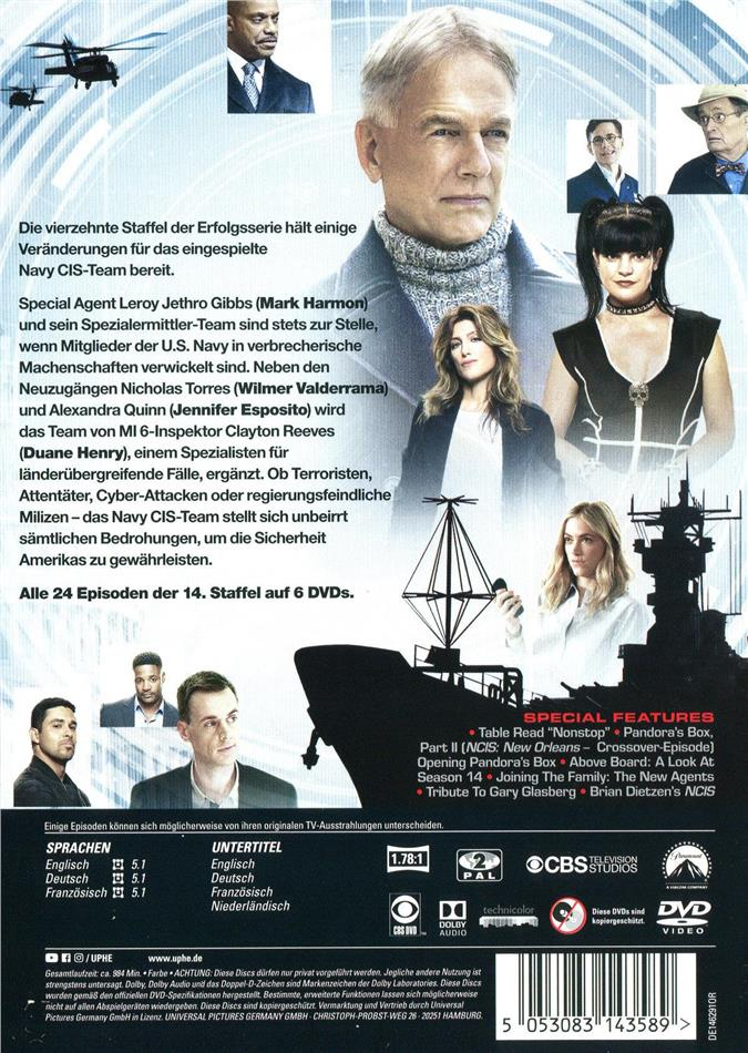 Navy Cis Dvd
