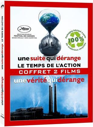 Une vérité qui dérange / Une suite qui dérange: le temps de l'action (Digibook, 2 DVDs)