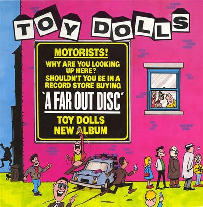 The Toy Dolls - A Far Out Disc (Clear Vinyl, LP)