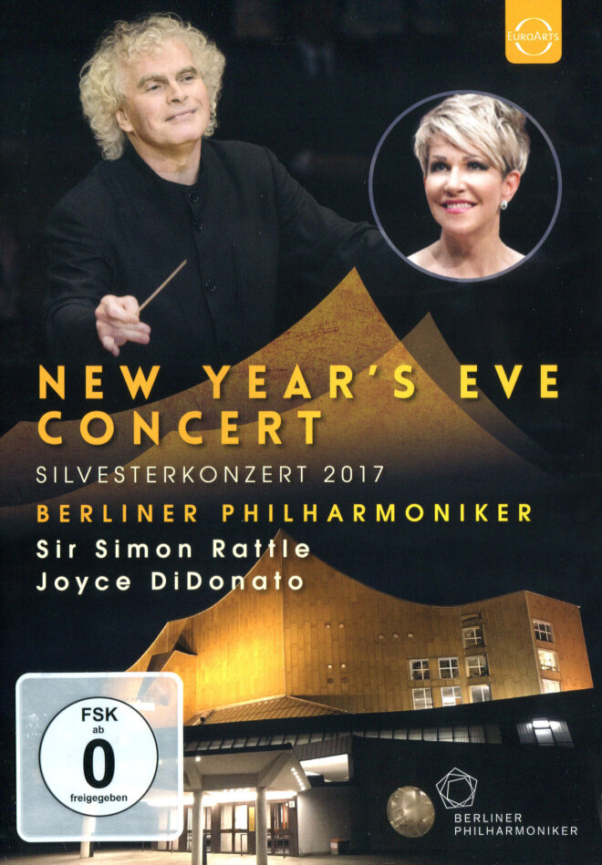 Berliner Philharmoniker, Sir Simon Rattle, … - Silvesterkonzert 2017 (Euro Arts)