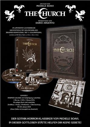 The Church (1989) (Leatherbook, Digipack, Limited Edition, Uncut, Blu-ray + 2 DVDs)