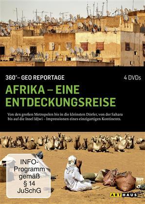 Afrika - Eine Entdeckungsreise (360° - GEO Reportage, Arthaus, Neuauflage, 4 DVDs)