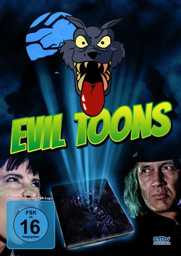 Evil Toons (1992) (Cover A, Limited Edition, Mediabook, Blu-ray + DVD)