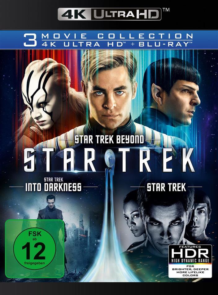 Star Trek - 3 Movie Collection - Star Trek 11 / Star Trek 12 - Into Darkness / Star Trek 13 - Beyond (3 4K Ultra HDs + 3 Blu-rays)