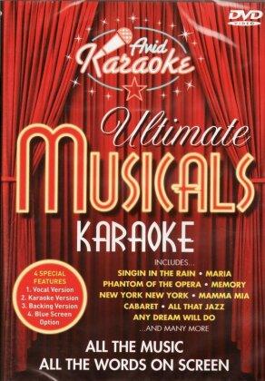 Karaoke - Ultimate Musicals Karaoke