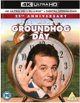 Groundhog Day (1993) (25th Anniversary Edition, 4K Ultra HD + Blu-ray)