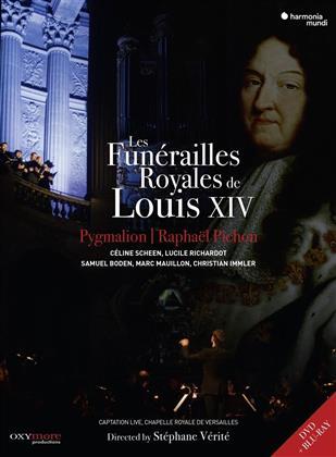 Ensemble Pygmalion, Raphael Pichon, … - Les Funérailles royales de Louis XIV (Blu-ray + DVD)