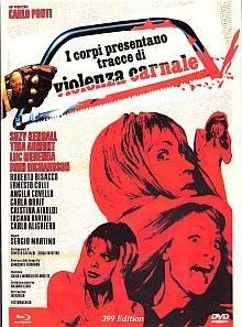 I corpi presentano tracce di violenza carnale (1973) (Eurocult Collection, Giallo Serie, Limited Edition, Mediabook, Blu-ray + DVD)