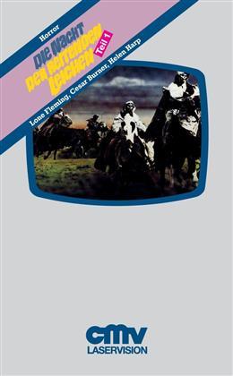 Die Nacht der reitenden Leichen - Teil 1 (1972) (VHS-Edition, Grosse Hartbox, Limited Edition, Uncut)