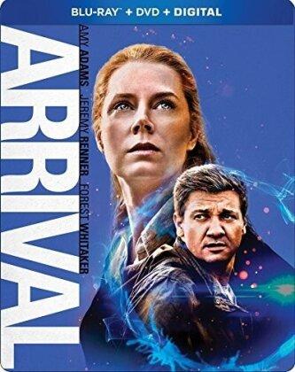 Arrival (2016) (Steelbook, Blu-ray + DVD)
