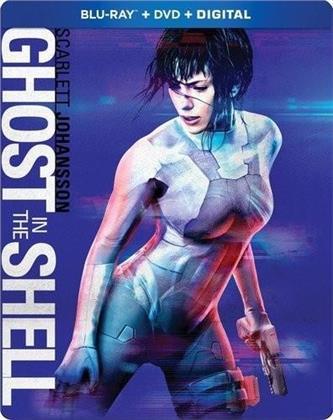 Ghost In The Shell (2017) (Steelbook, Blu-ray + DVD)