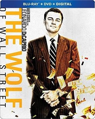 The Wolf Of Wall Street (2013) (Steelbook, Blu-ray + DVD)
