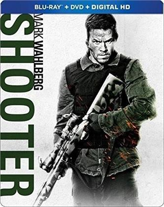 Shooter (2007) (Steelbook, Blu-ray + DVD)