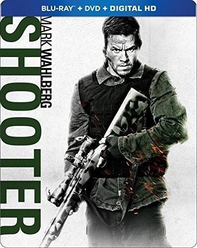 Shooter (2007) (Steelbook, Blu-ray + DVD)