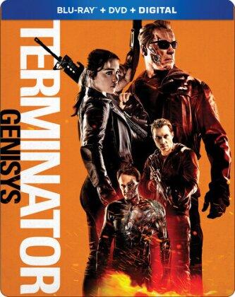 Terminator 5 - Genisys (2015) (Steelbook, Blu-ray + DVD)