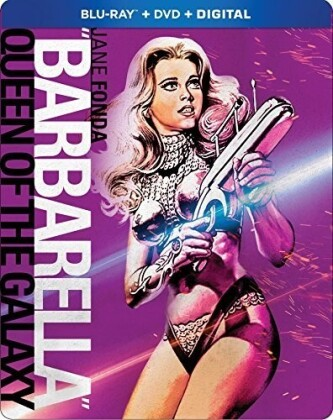 Barbarella (1968) (Steelbook, Blu-ray + DVD)
