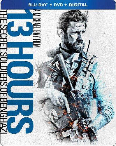 13 Hours - The Secret Soldiers Of Benghazi (2016) (Steelbook, Blu-ray + DVD)