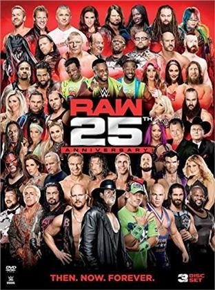 WWE: Raw 25 Anniversary (3 DVDs)