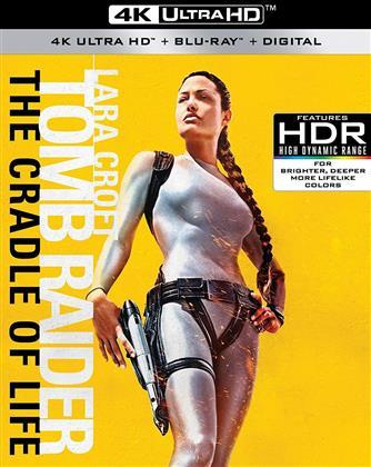 Lara Croft: Tomb Raider - The Cradle Of Life (2003) (4K Ultra HD + Blu-ray)