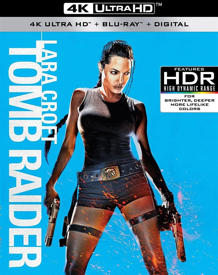 Lara Croft Tomb Raider 2001 4k Ultra Hd Blu Ray Cede Com