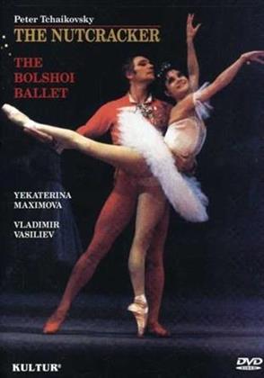 Bolshoi Ballet & Orchestra, Ekaterina Maximova & Vladimir Vasiliev - Tchaikovsky - The Nutcracker