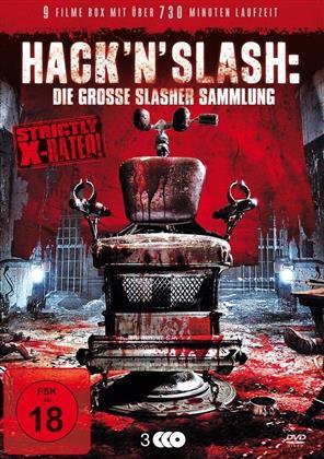 Hack 'n' Slash: Die grosse Slasher Sammlung (3 DVDs)