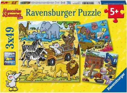 Abenteuer mit Mäuseschlau und Bärenstark - Puzzle
