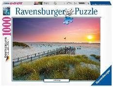Sonnenuntergang über Amrum - 1000 Teile Puzzle