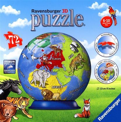 Kindererde - 72 Teile Puzzleball