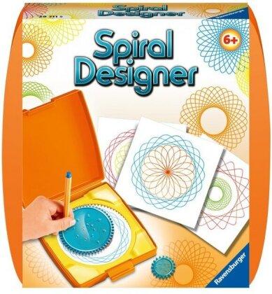 Mini Spiral Designer - Orange