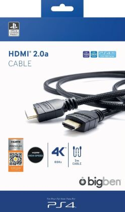 HDMI 2.0a Cable 3m - black