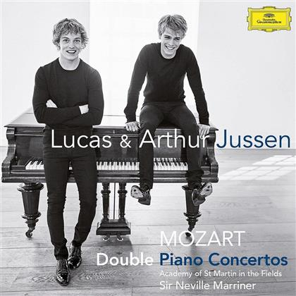 Wolfgang Amadeus Mozart (1756-1791), Sir Neville Marriner, Lucas Jussen, Arthur Jussen & Academy of St Martin in the Fields - Double Piano Concertos K 242, K 365, K 381 (2 CDs)