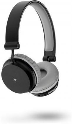 KitSound Metro Bluetooth Headphones - black