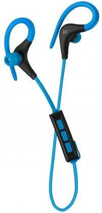 KitSound Race Bluetooth Earphones - blue