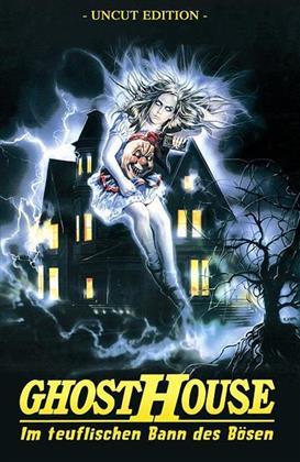 Ghosthouse - Im teuflischen Bann des Bösen (1988) (Cover A, Grosse Hartbox, Neuauflage, Remastered, Uncut)